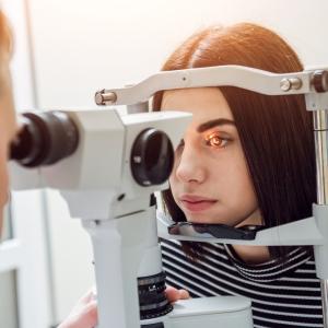 Биомикрофотография глазного дна